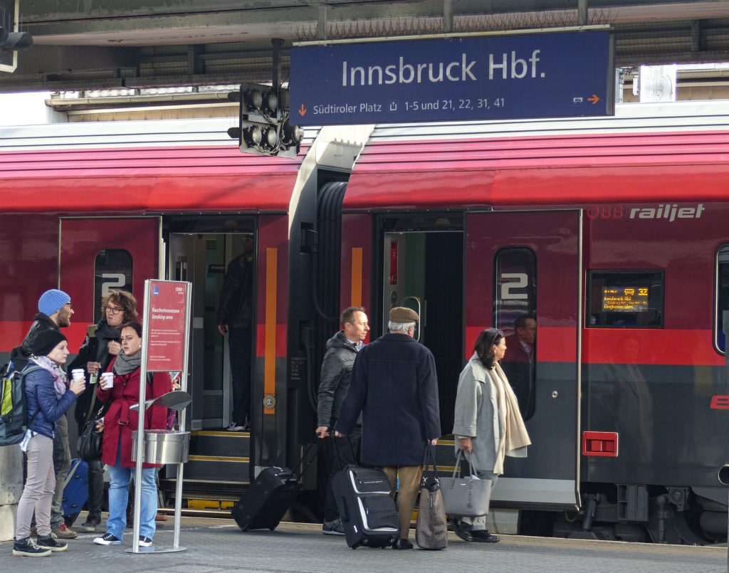Trains To Innsbruck Austria A Complete Guide Travel Tyrol