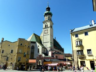 Upper town square or Oberer Stadtplatz Hall in Tirol © Travel Tyrol