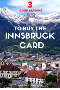 The Innsbruck Card in Tyrol Austria is real value for money