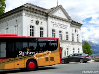 The Sightseer Bus is included in the Innsbruck Card.