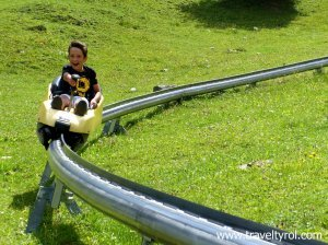Fun on the Mieders Alpine Coaster.