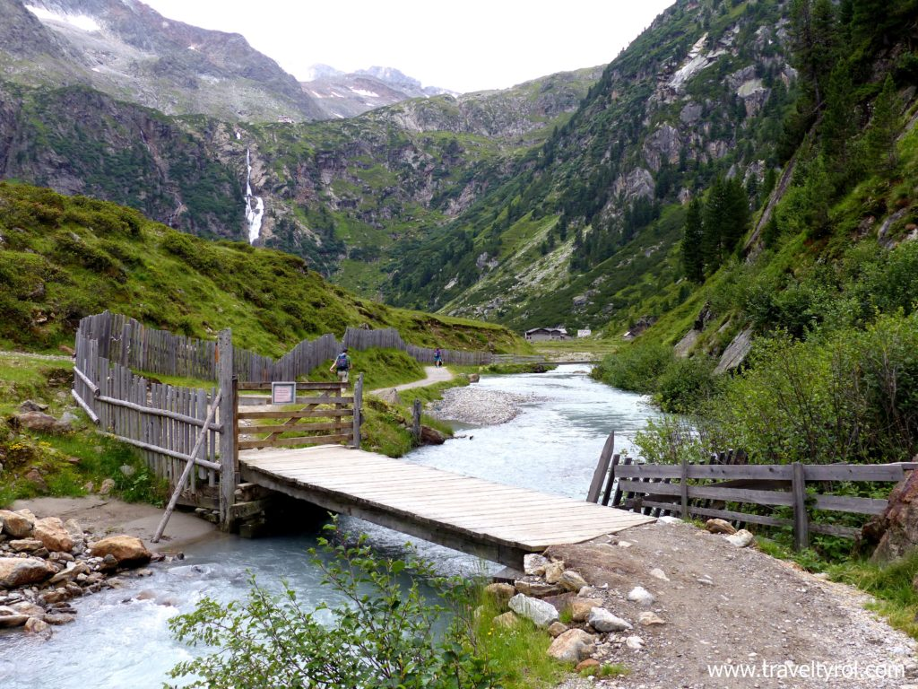 Sulzenegg on the Wilde Wasser Weg in Austria.