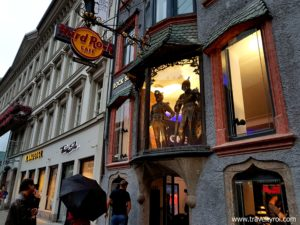 Hard Rock Cafe Innsbruck exterior.