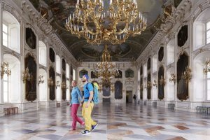 Giants' Hall Imperial Palace Innsbruck. Include it in your Innsbruck sightseeing tour. © TVB Innsbruck / Christian Vorhofer