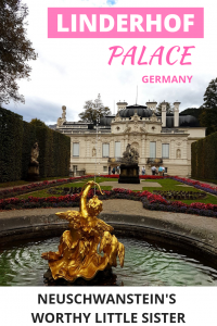 Linderhof Palace is a mini-Versailles close to Neuschwanstein in the German Bavaria. Read everything you need to know about a visit to Linderhof.