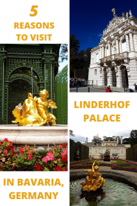 Linderhof Palace and Neuschwanstein are in equally beautiful settings but Linderhof attracts fewer crowds, making it an excellent day trip destination from Munich or Innsbruck.