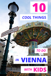 Prater Vienna with kids pin