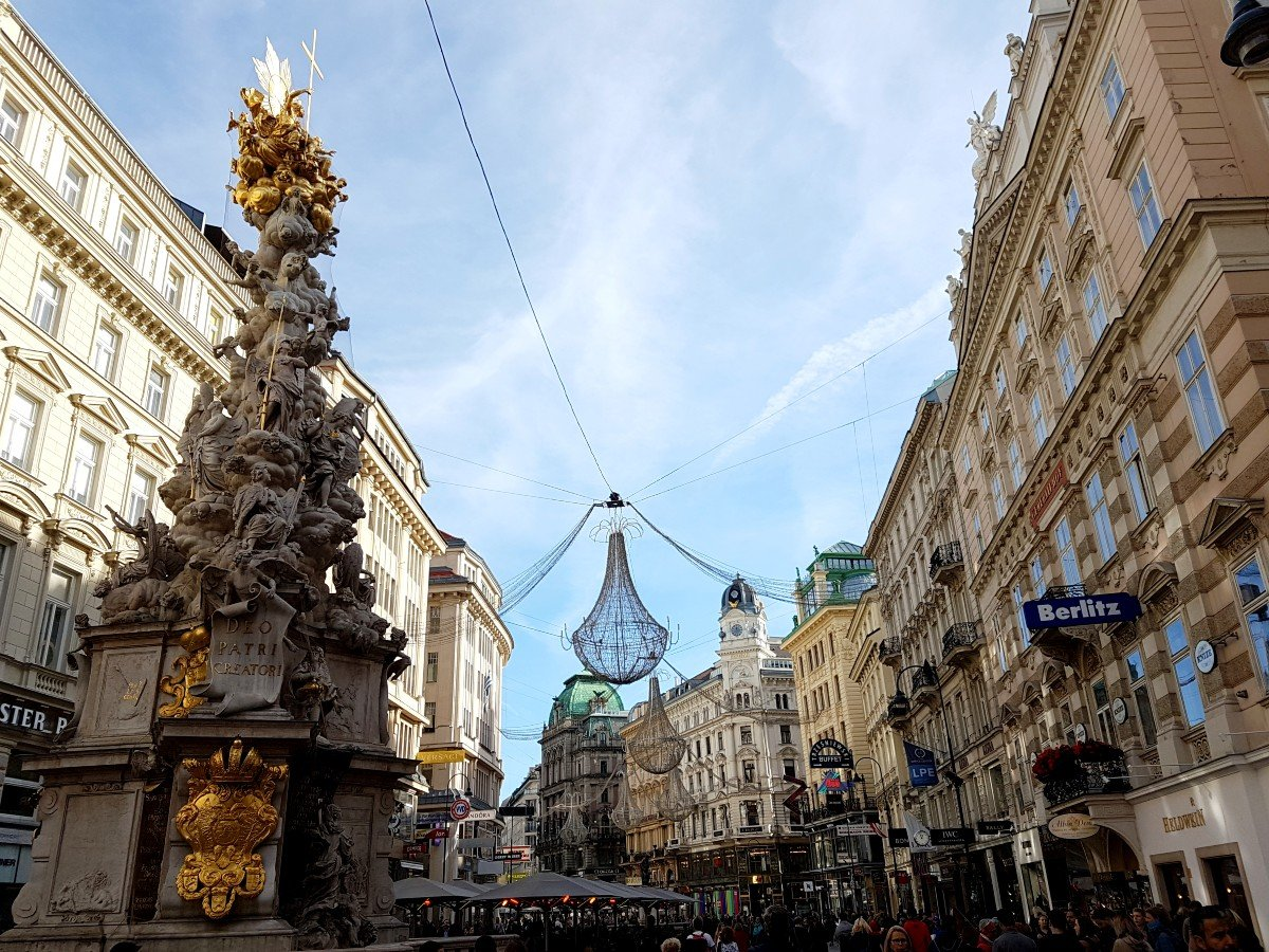 Vienna, one of the most beautiful cities in Austria.