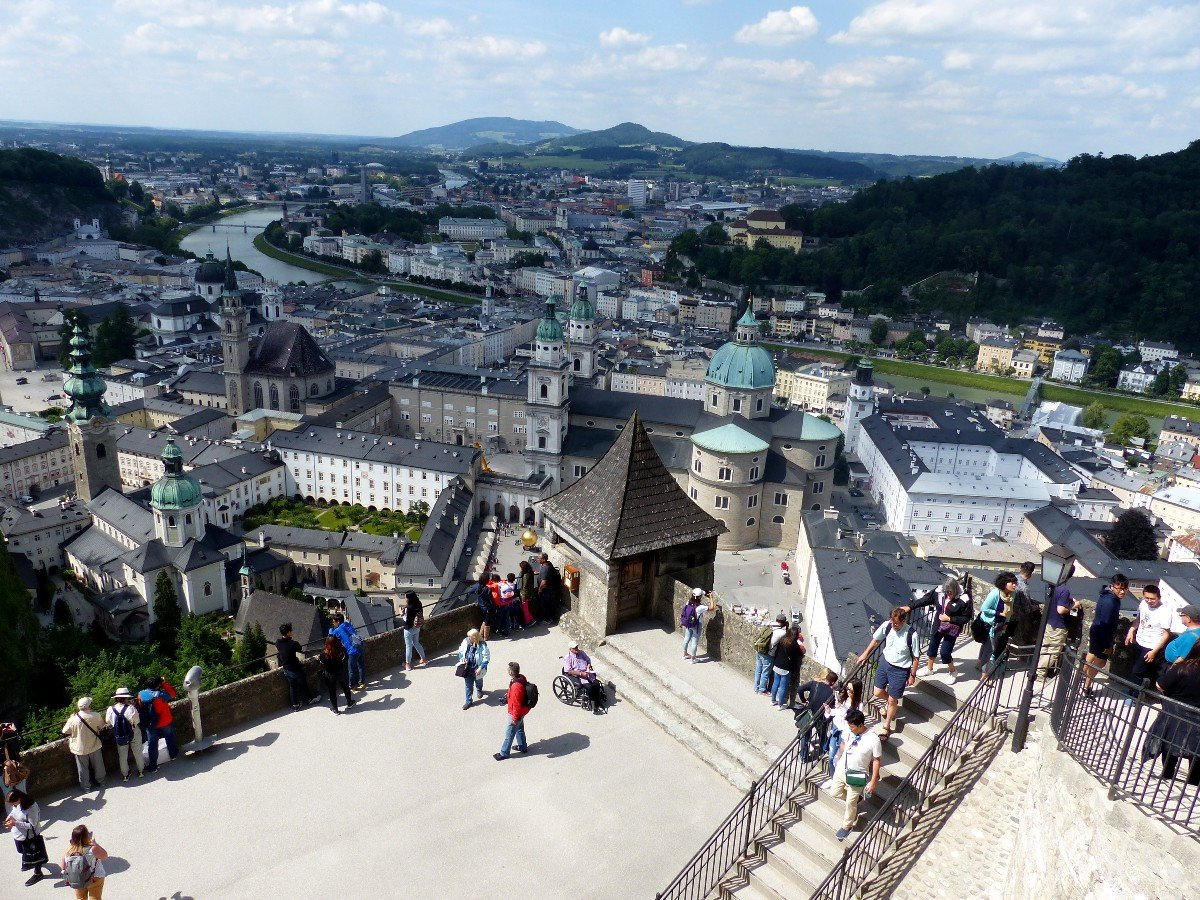 Salzburg is one of the most beautiful cities in Austria.