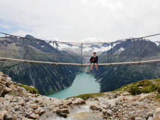 Olperer suspension bridge