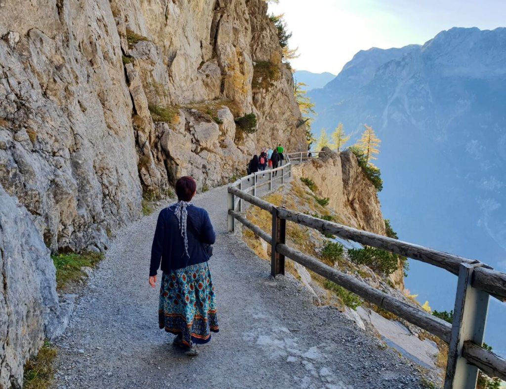 Trail from Werfen Ice Caves