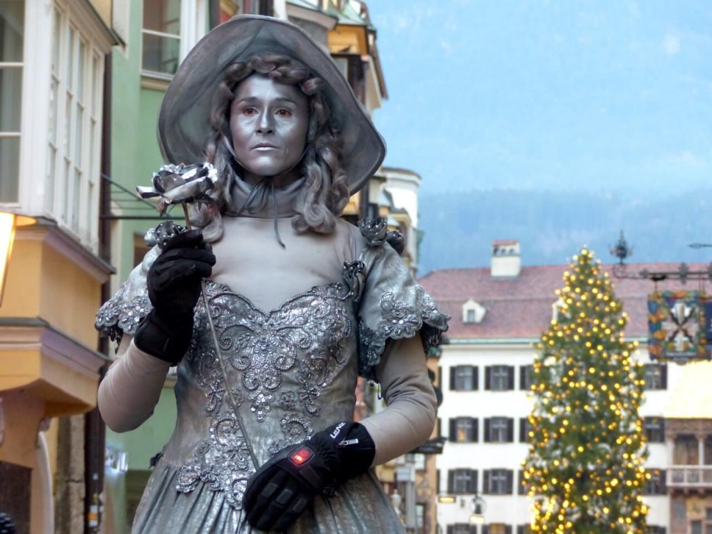 Golden Roof Silver Lady Innsbruck