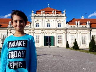 Belvedere Vienna with kids