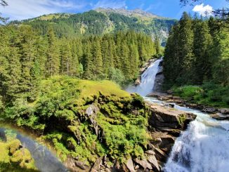 Krimml Waterfalls Austria