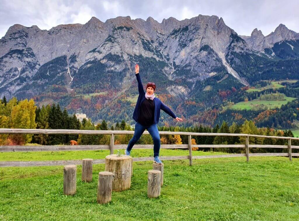Pictures on the Sound of Music Meadow.