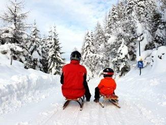 Sledding in Tyrol
